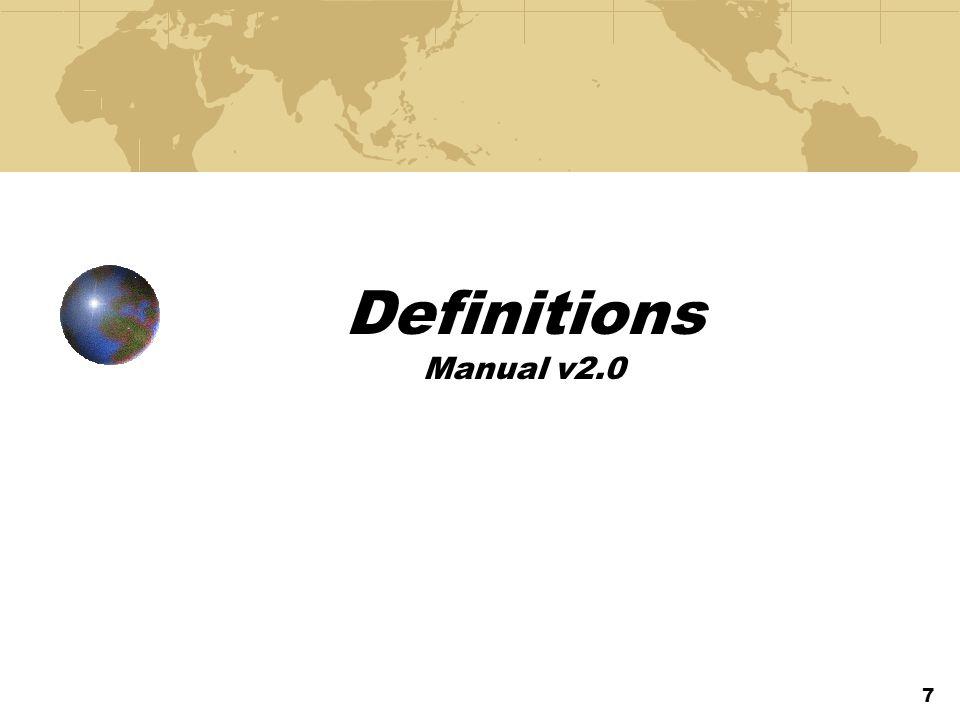 Definitions Manual v2.0 7