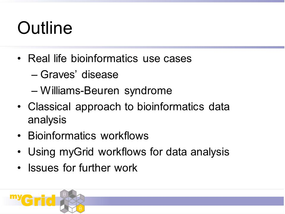 Outline Real life bioinformatics use cases Graves' disease