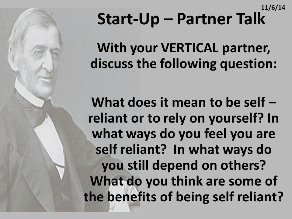 Start-Up – Partner Talk