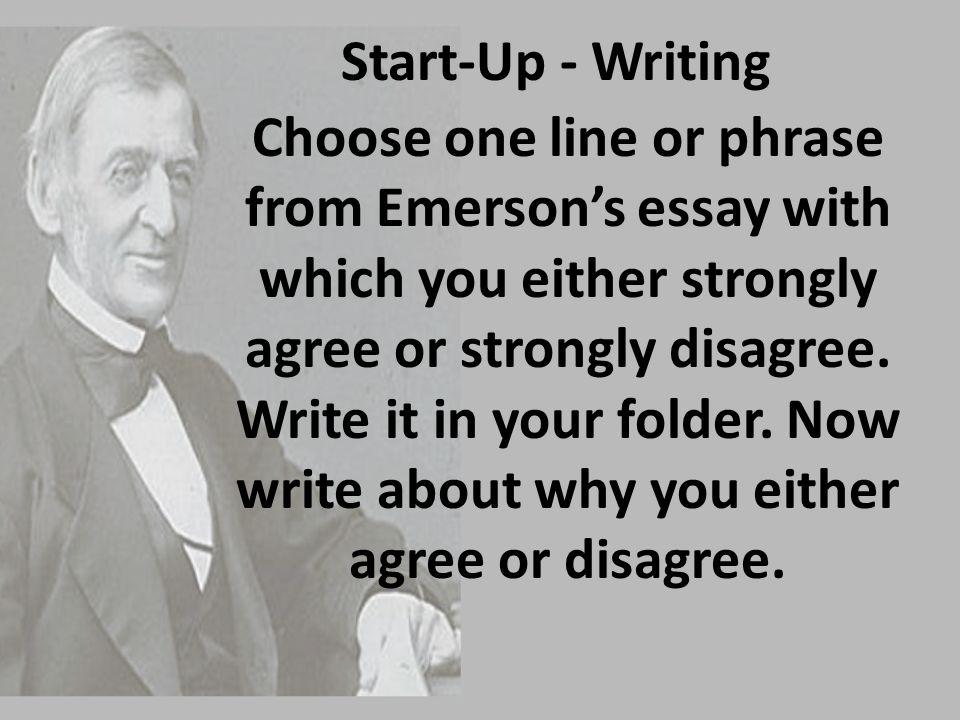 Start-Up - Writing