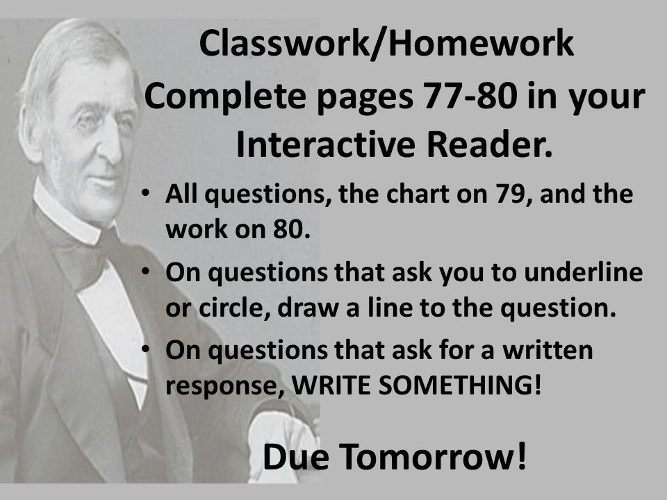 Complete pages 77-80 in your Interactive Reader.