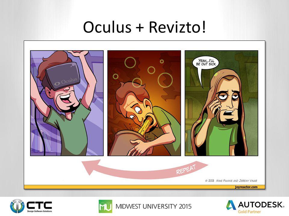 Oculus + Revizto!