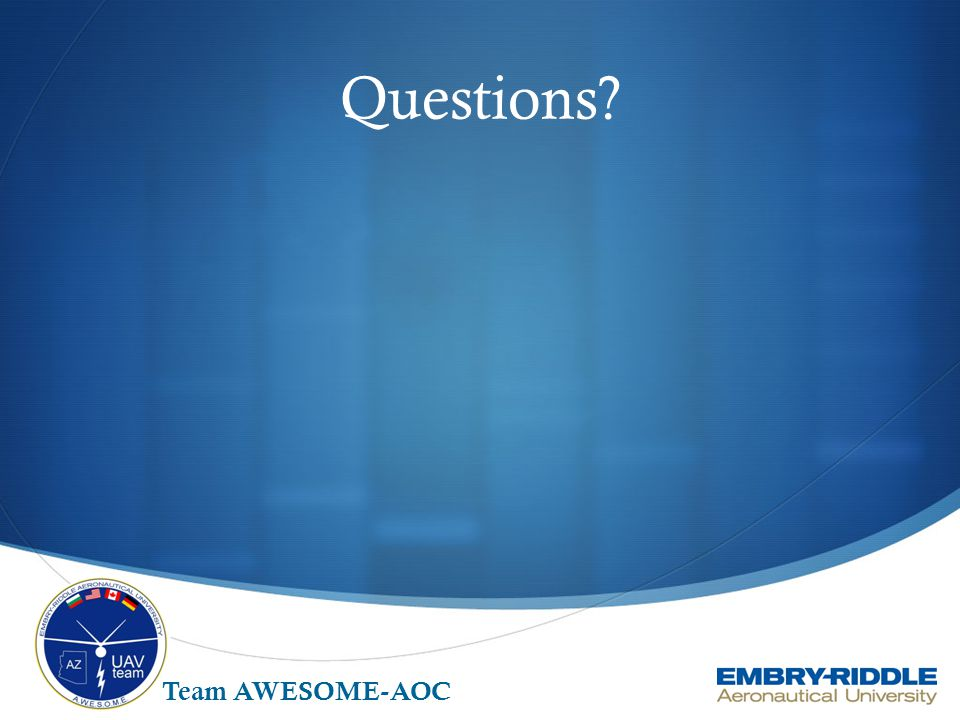 Questions Team AWESOME-AOC