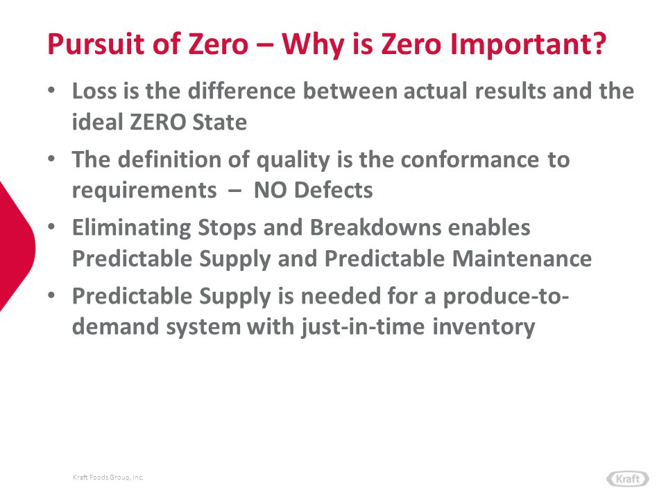 Pursuit of Zero – Why is Zero Important
