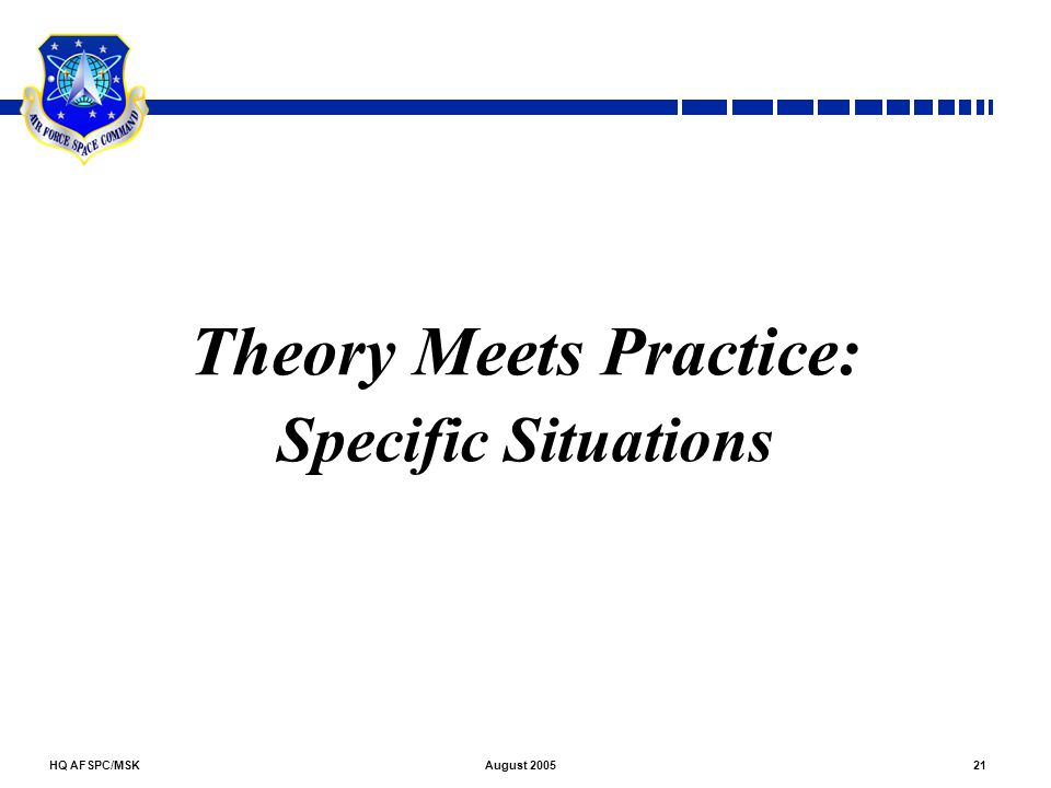 Theory Meets Practice: