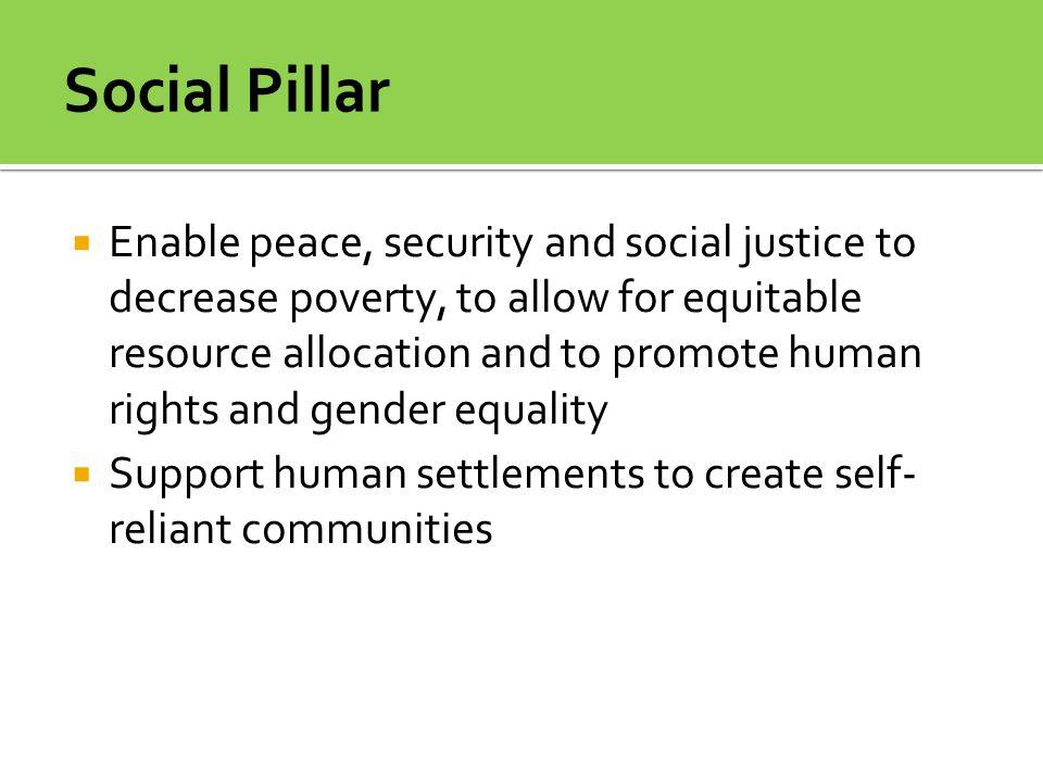 Social Pillar