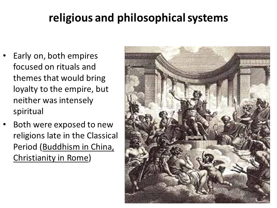 religious and philosophical systems