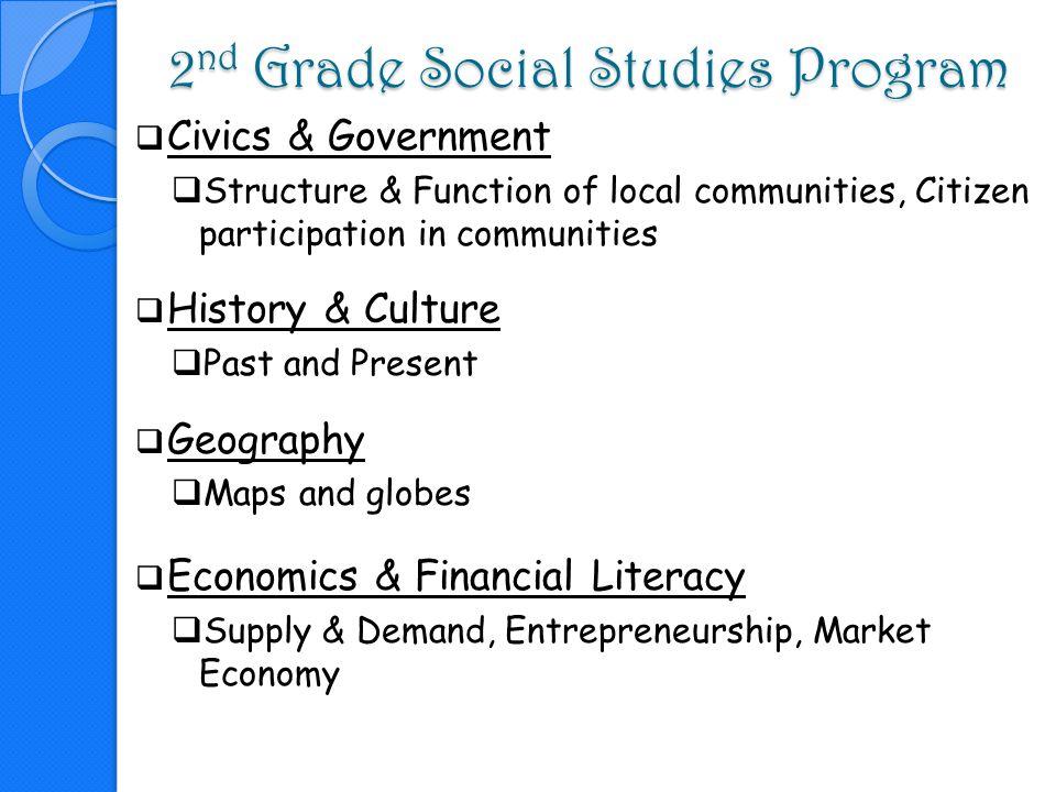 2nd Grade Social Studies Program