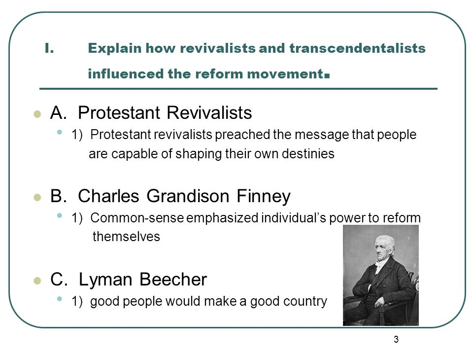 A. Protestant Revivalists