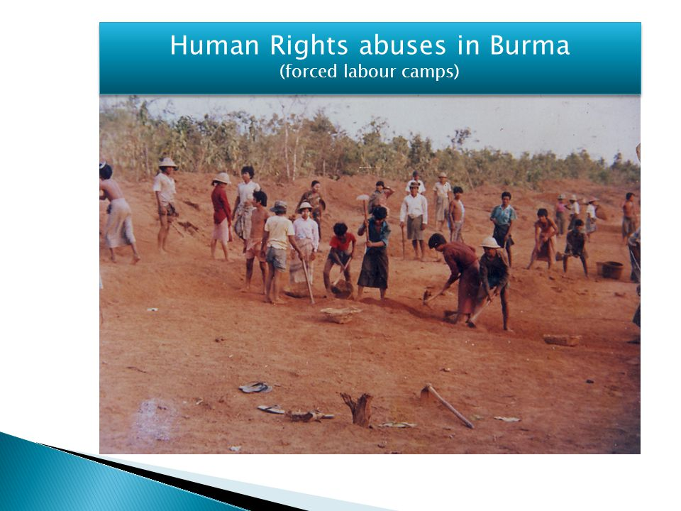 Human Rights abuses in Burma