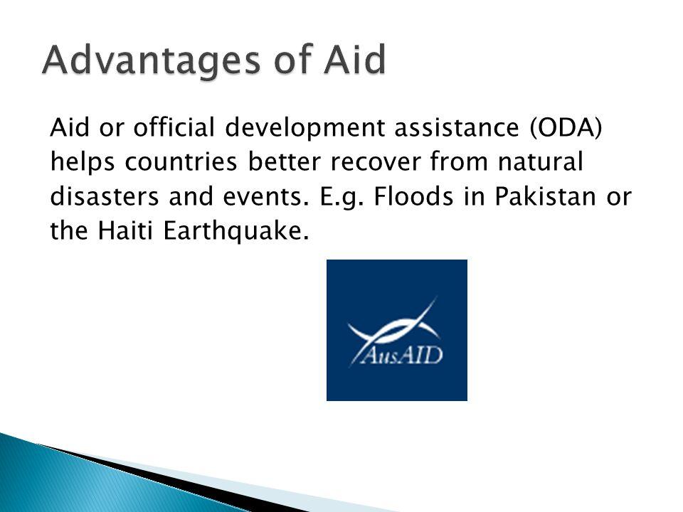 Advantages of Aid