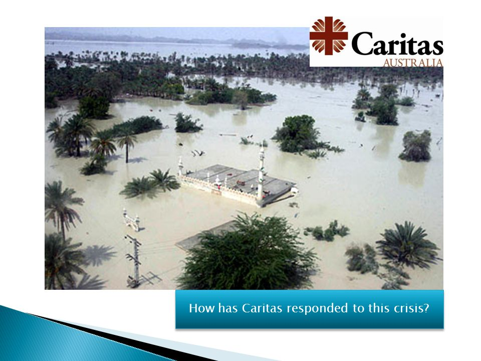 How has Caritas responded to this crisis