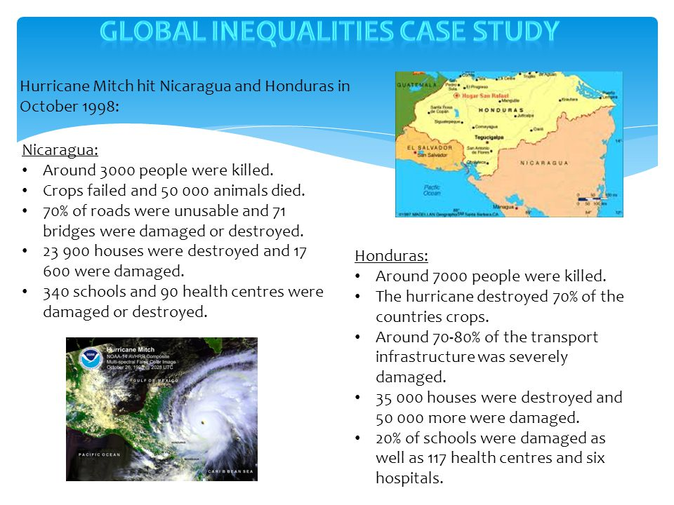 Global inequalities case study