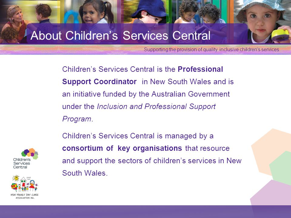 About Children's Services Central
