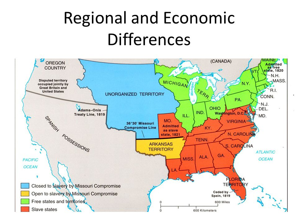 Regional and Economic Differences