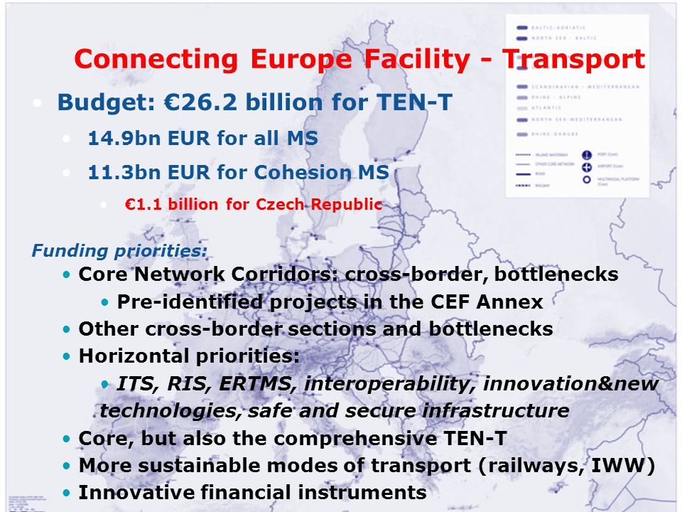 Connecting Europe Facility - Transport