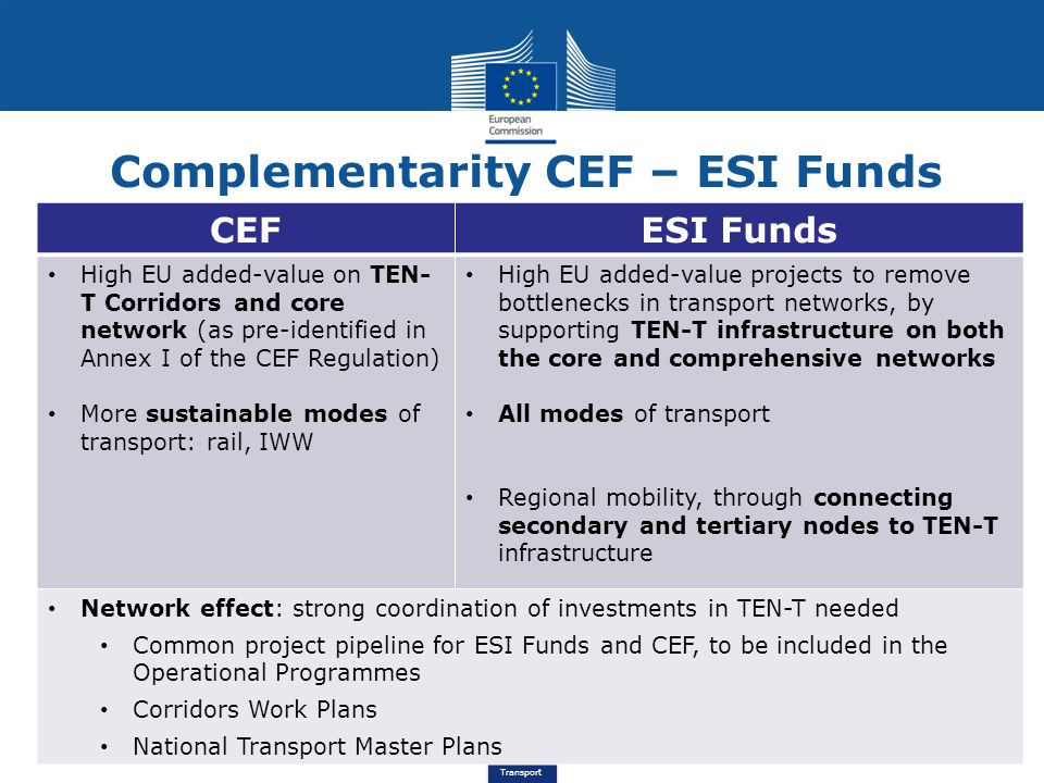 Complementarity CEF – ESI Funds