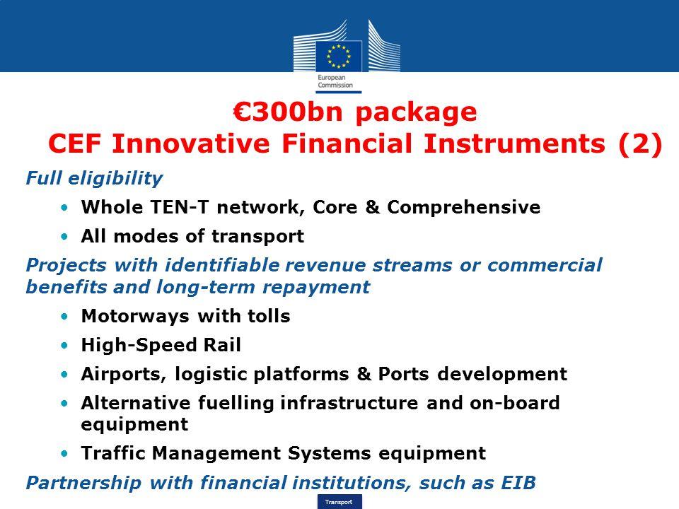 CEF Innovative Financial Instruments (2)