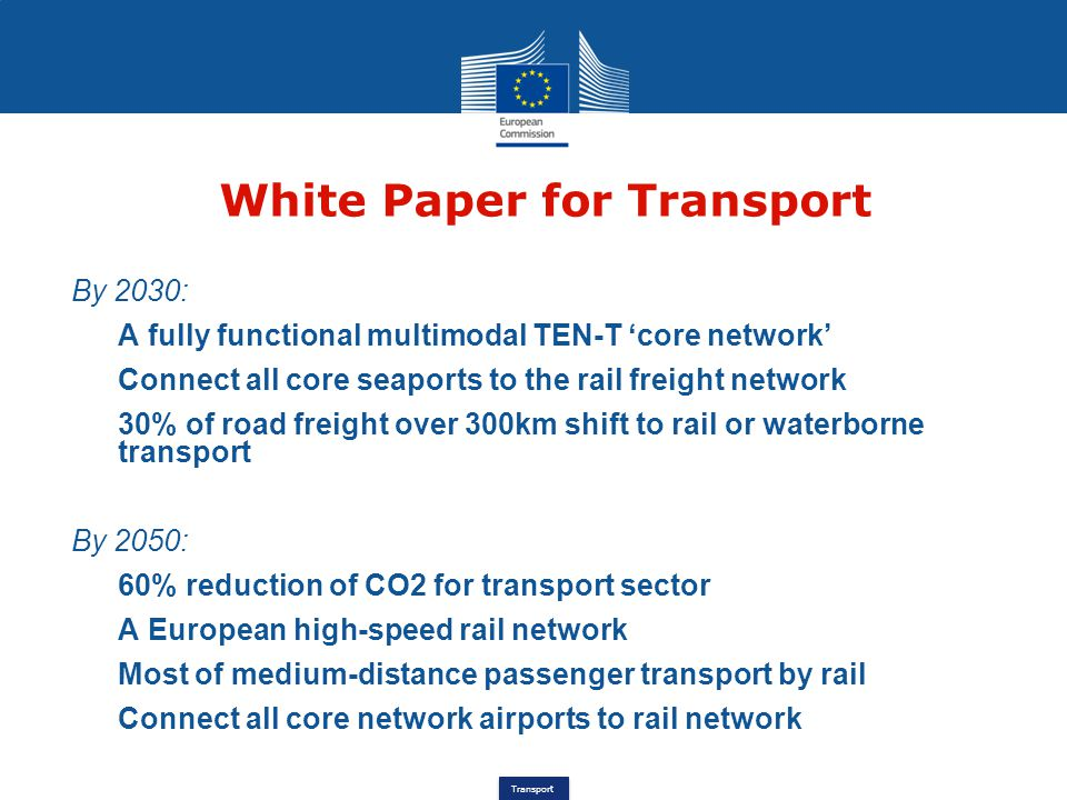 White Paper for Transport