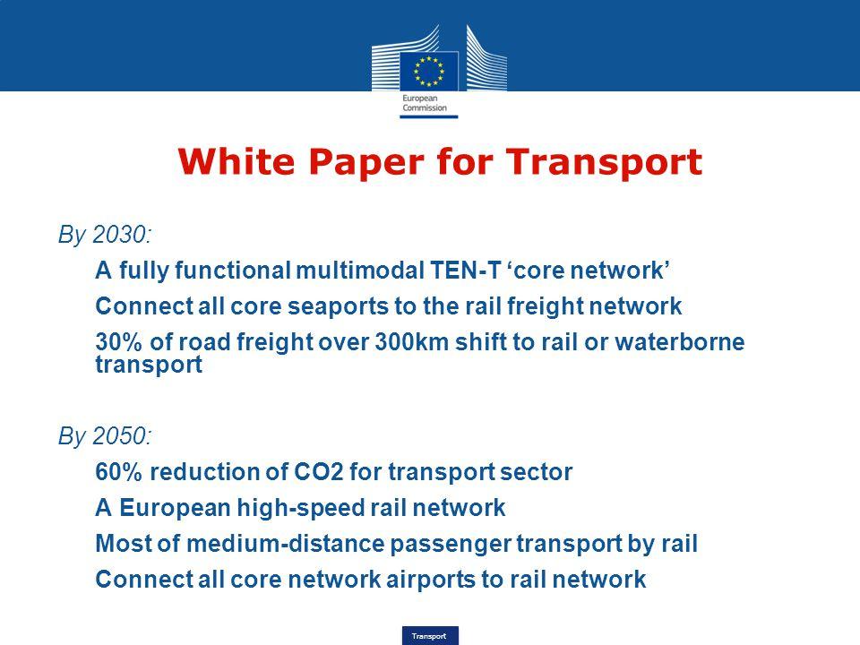 White Paper for Transport