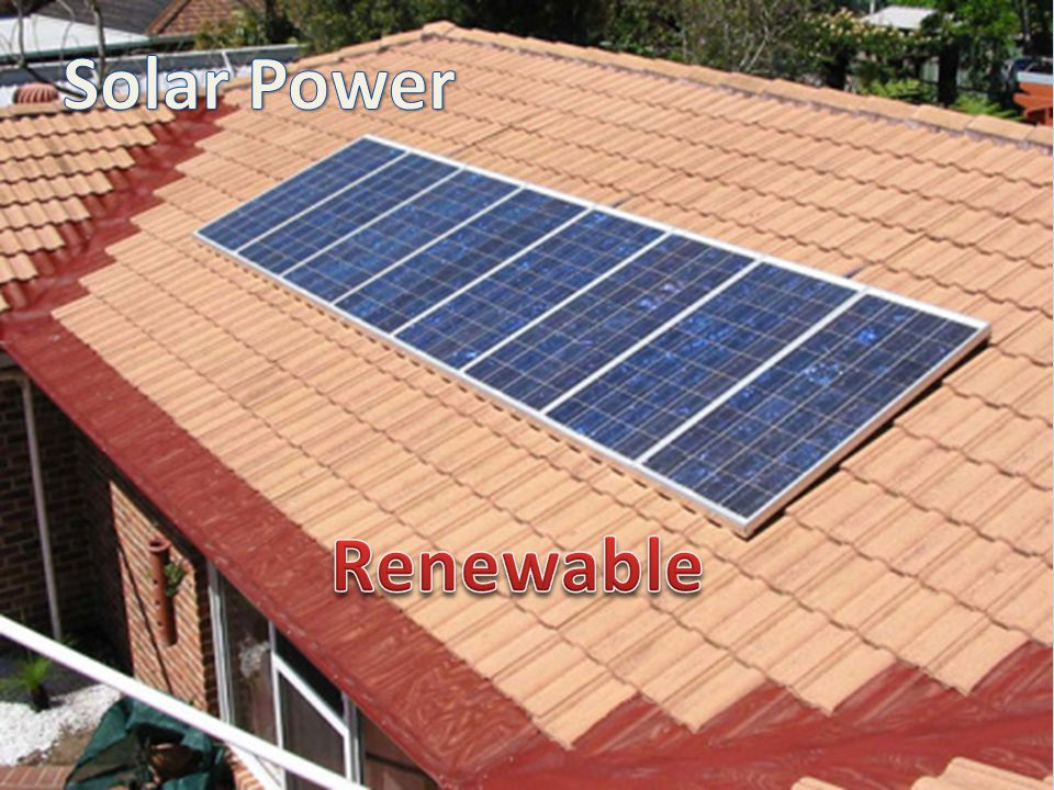 Solar Power Renewable