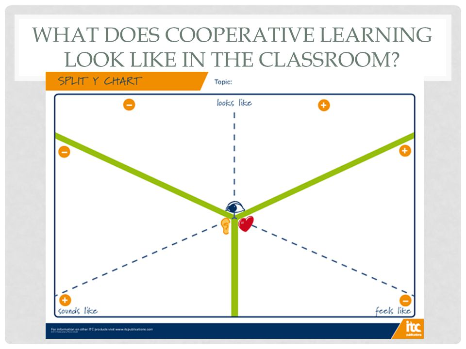 What does cooperative learning look like in the classroom