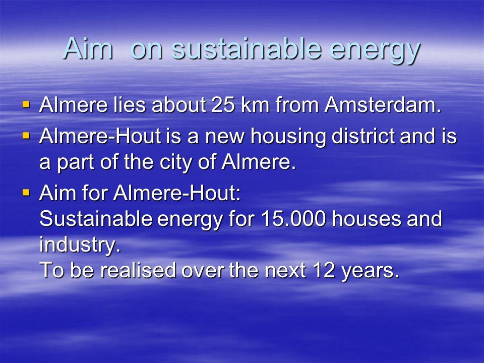 Aim on sustainable energy
