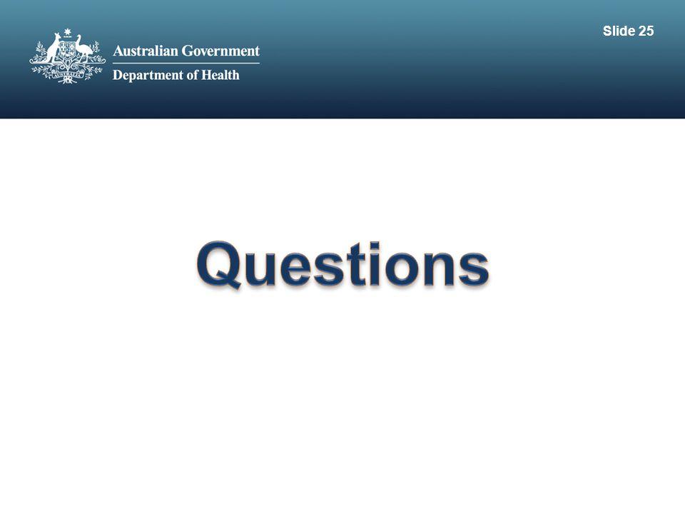Slide 25 Questions