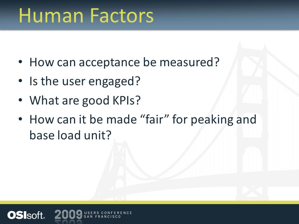 Human Factors How can acceptance be measured Is the user engaged
