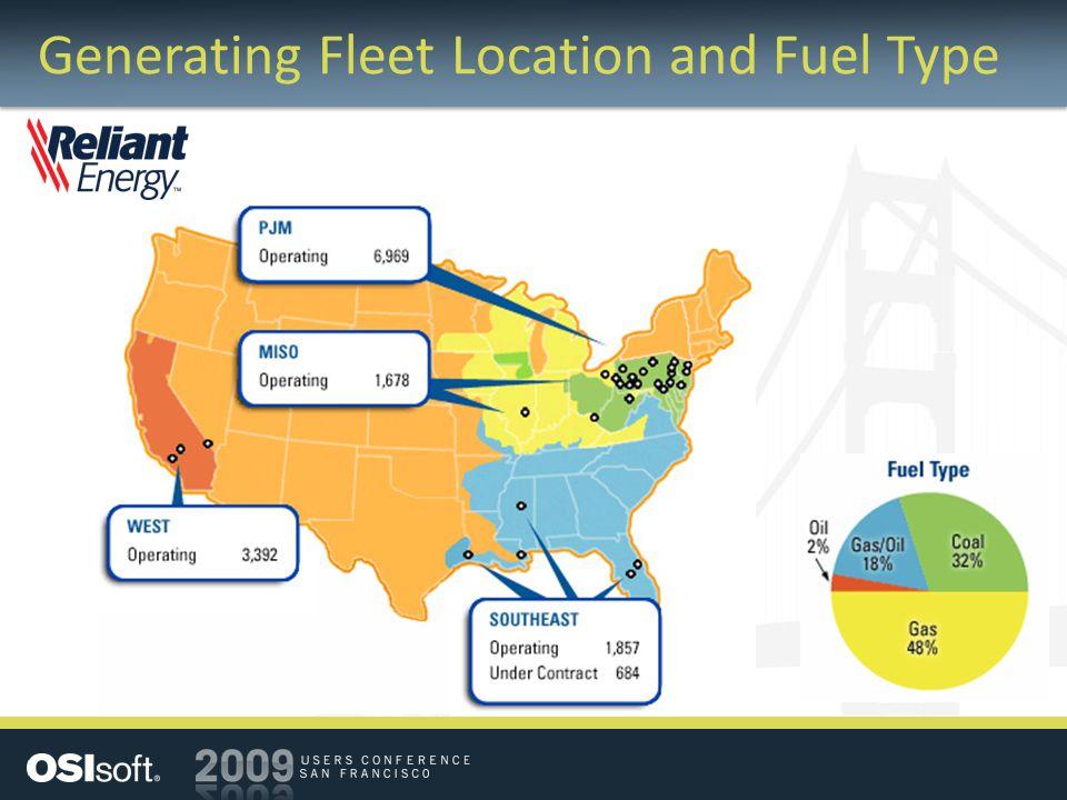 Generating Fleet Location and Fuel Type