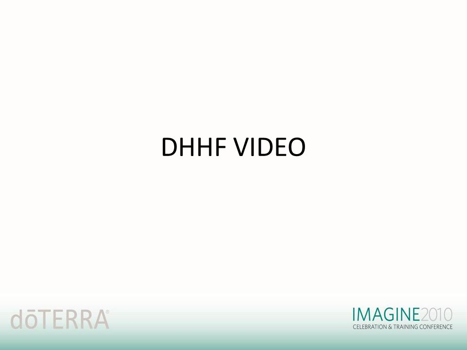 DHHF VIDEO
