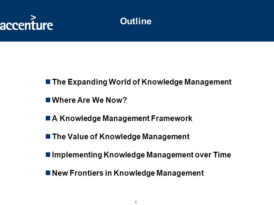 The Expanding World of Knowledge Management