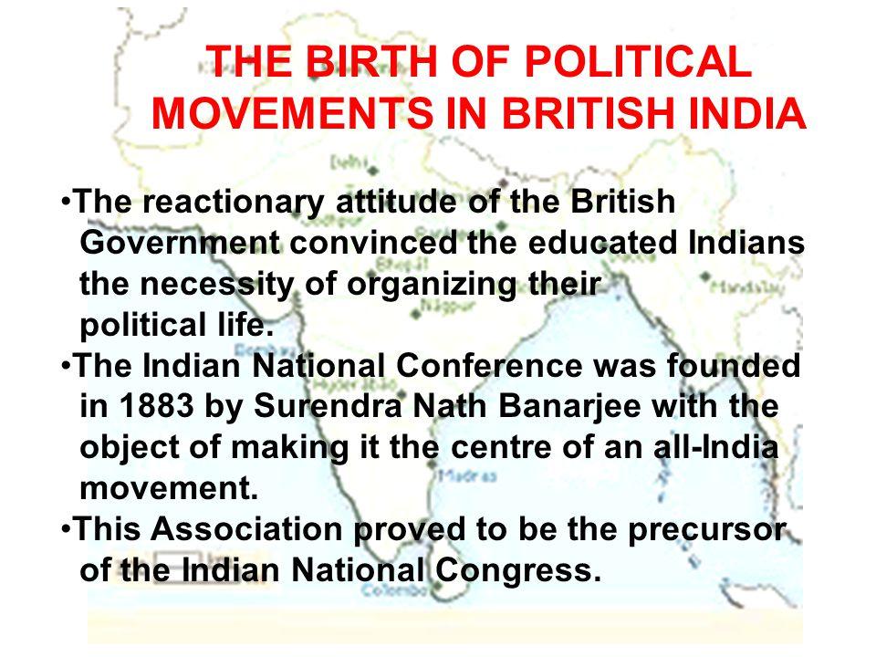 MOVEMENTS IN BRITISH INDIA