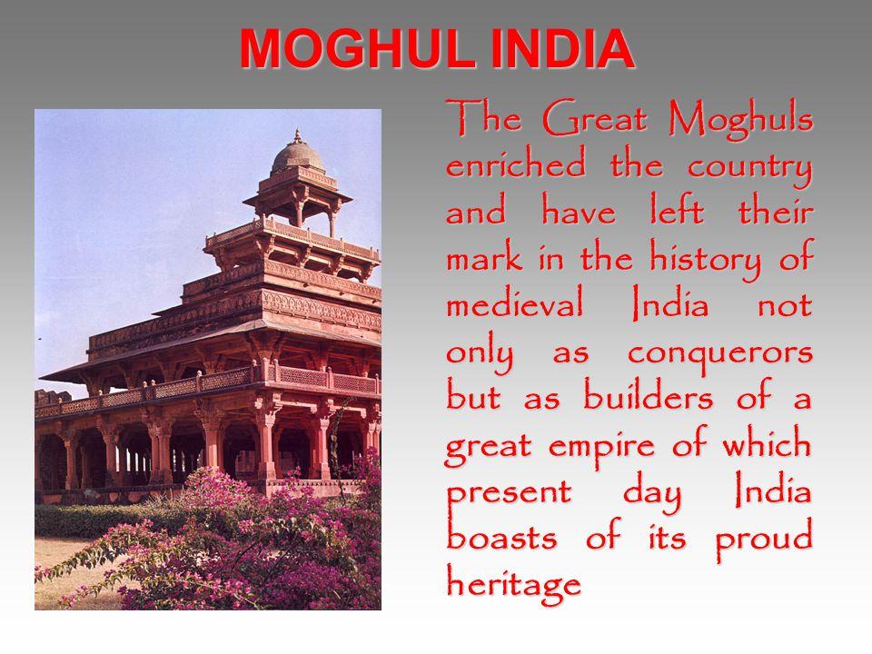 MOGHUL INDIA