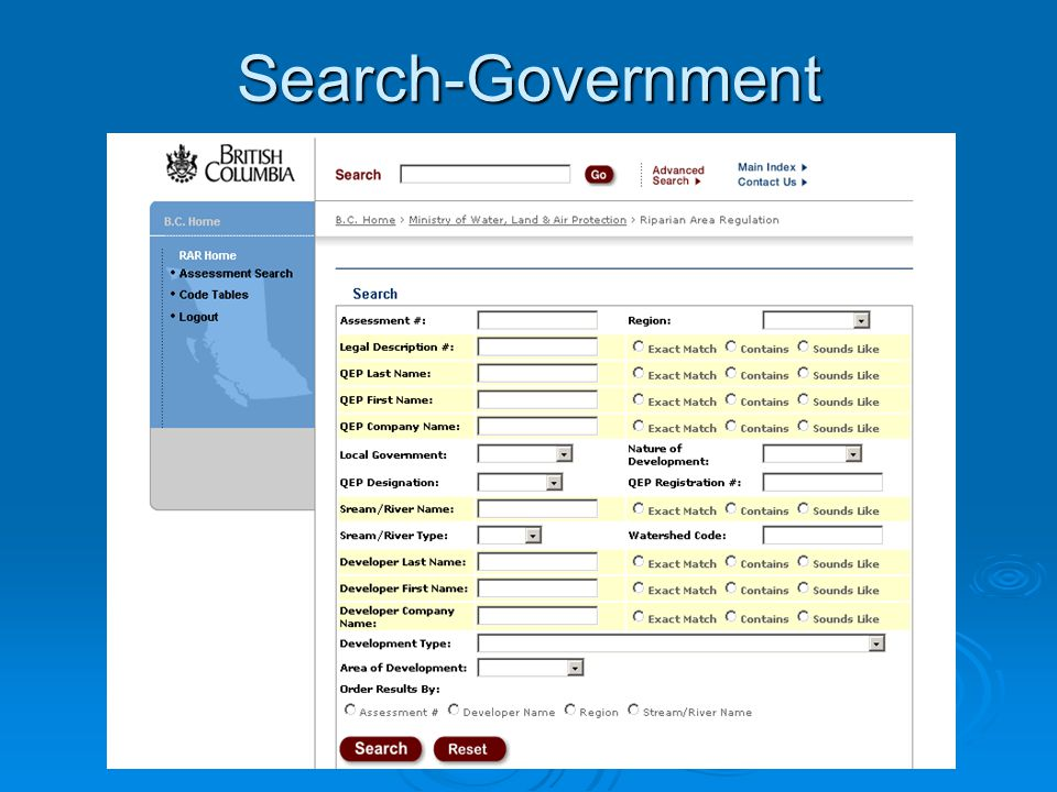 Search-Government