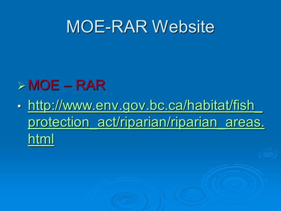 MOE-RAR Website MOE – RAR