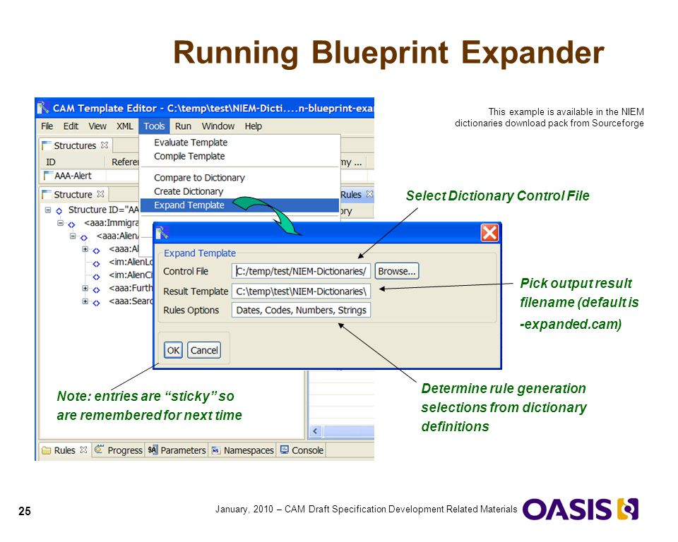 Running Blueprint Expander