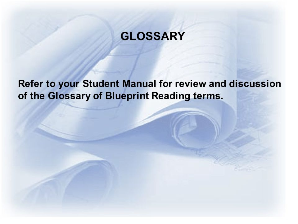 GLOSSARY Refer to your Student Manual for review and discussion