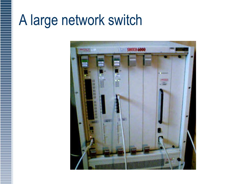 A large network switch