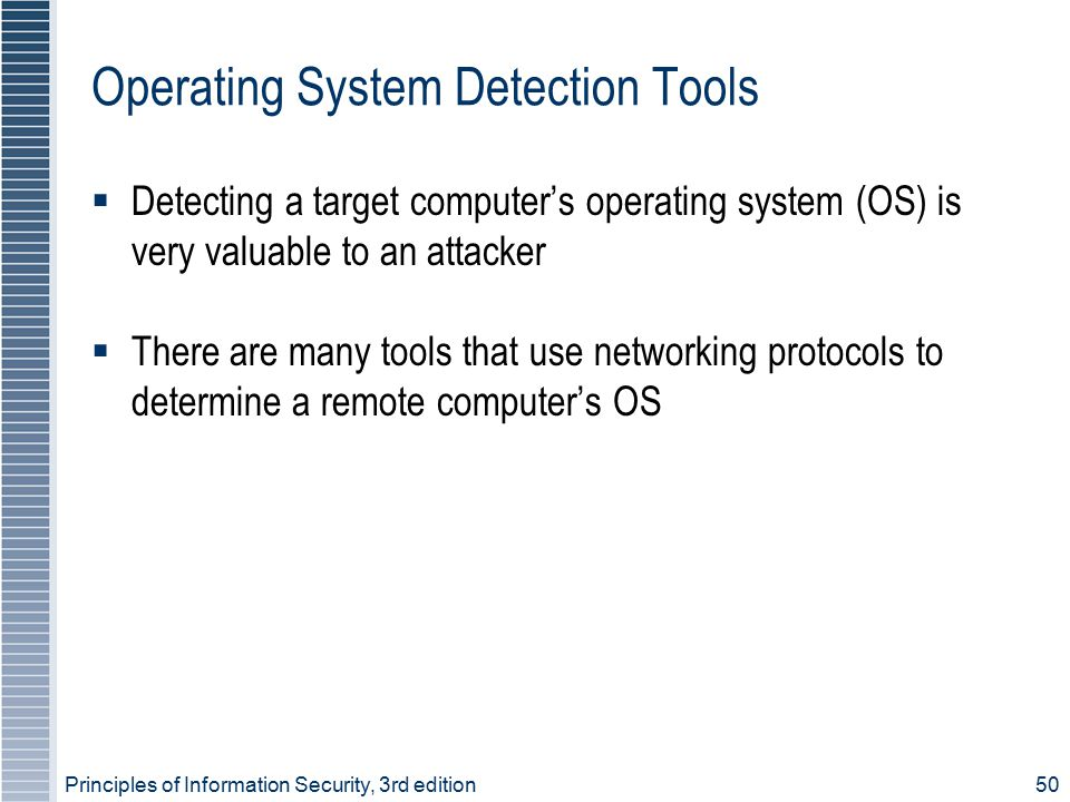 Operating System Detection Tools
