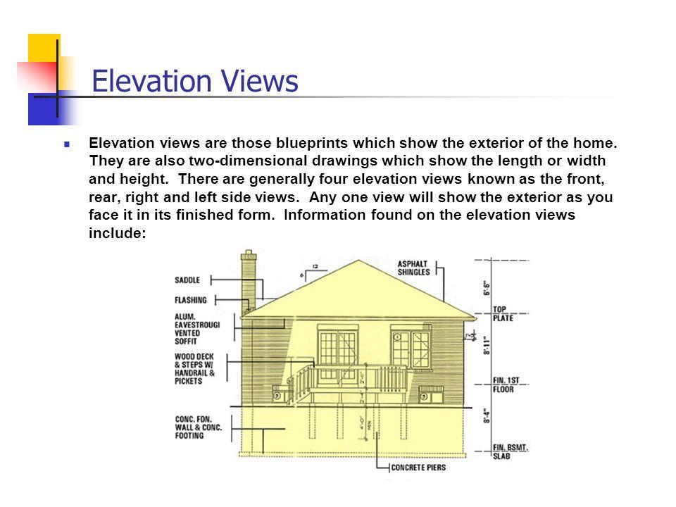 Elevation Views