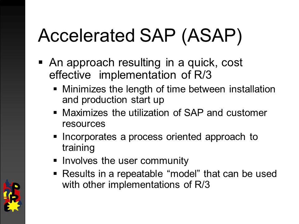 Accelerated SAP (ASAP)