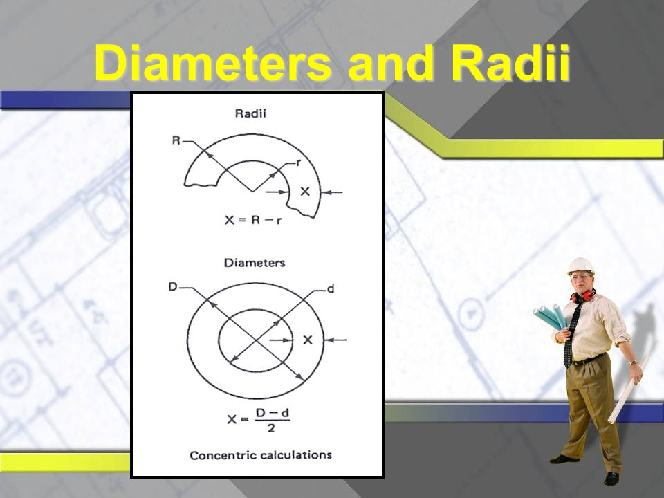 Diameters and Radii