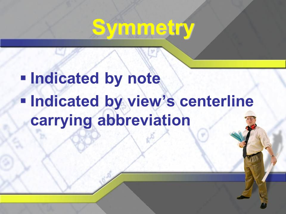 Symmetry Indicated by note