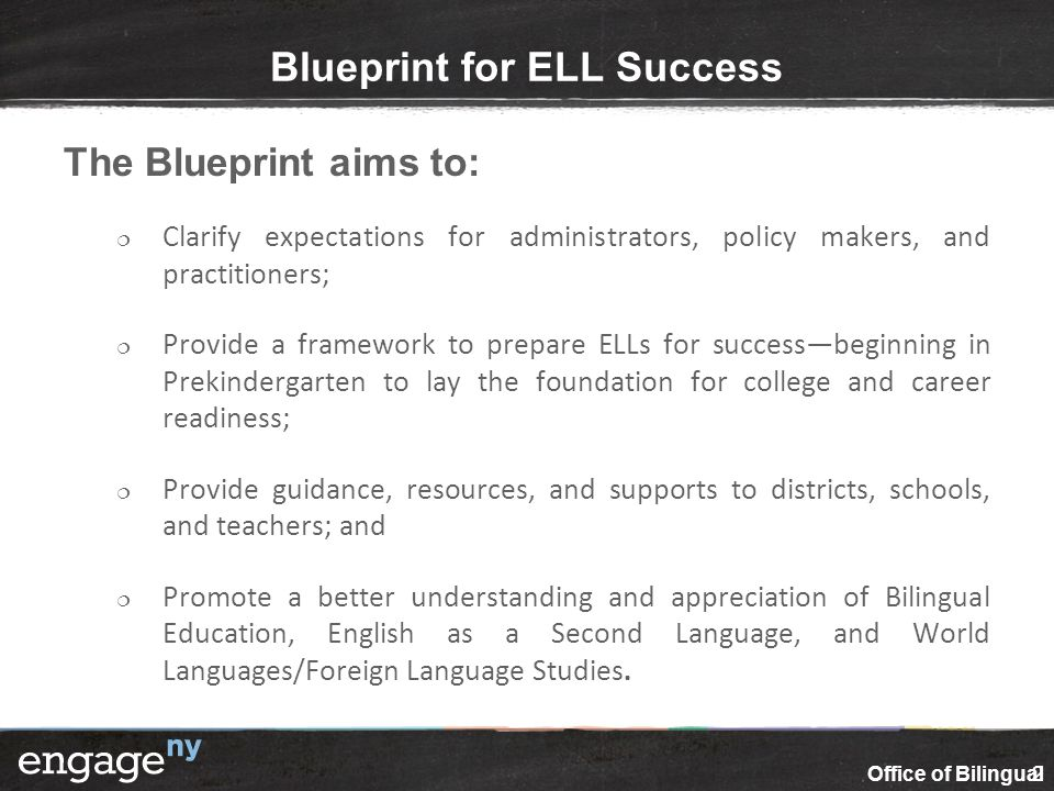 Ensuring equal educational opportunities for english language blueprint for ell success malvernweather Choice Image