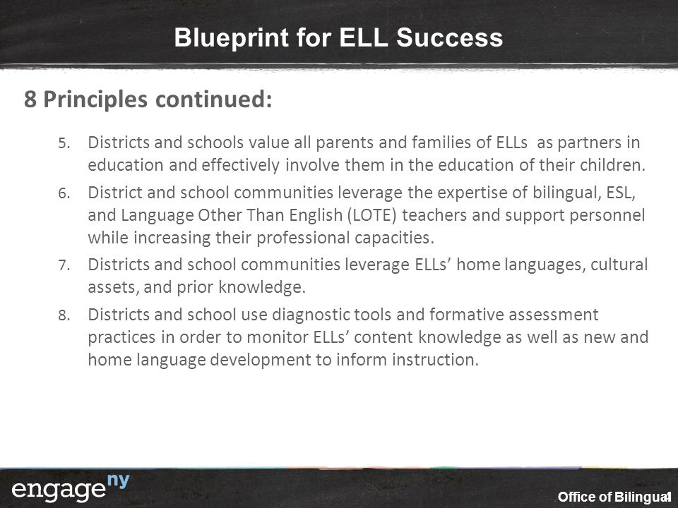 Ensuring equal educational opportunities for english language blueprint for ell success malvernweather Image collections