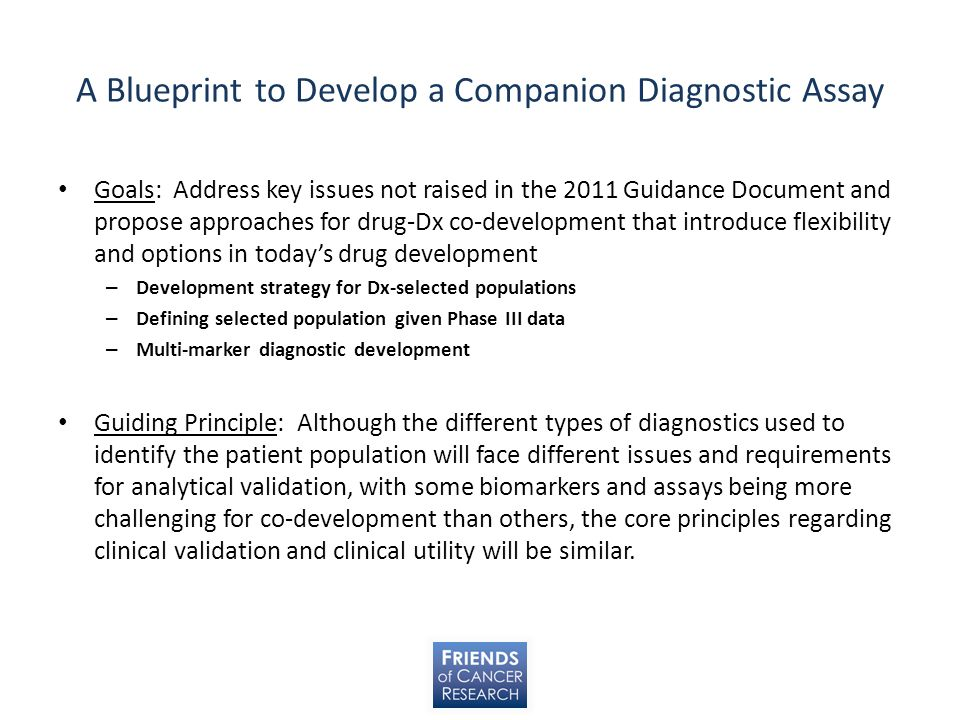 A Blueprint to Develop a Companion Diagnostic Assay