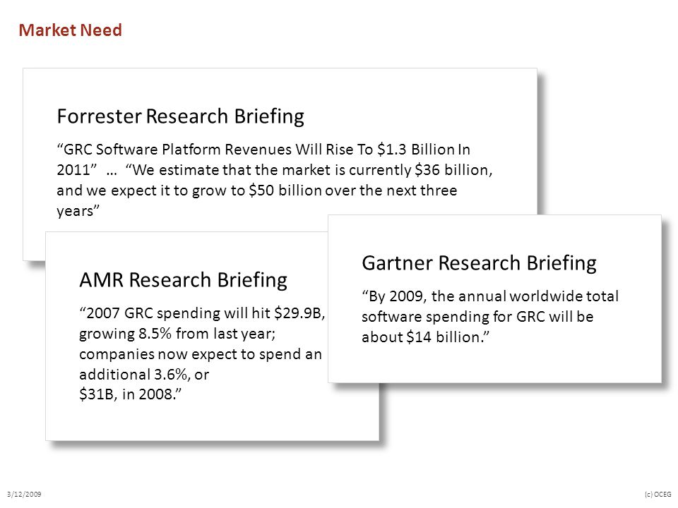 Forrester Research Briefing
