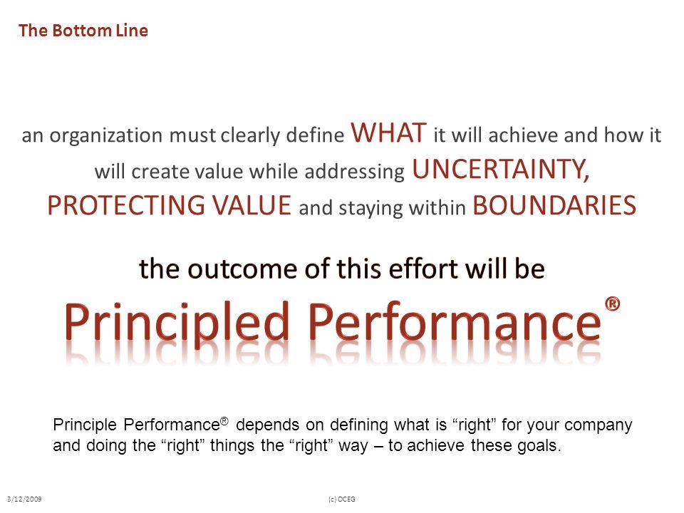 Principled Performance®