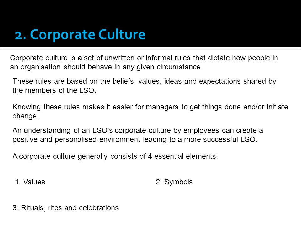 2. Corporate Culture